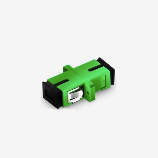 SC APC  Simplex Single Mode Fiber Optik Adaptor - Fibline