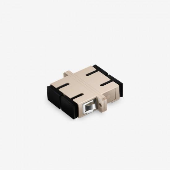 SC/UPC  Duplex Multi Mode Plastik Fiber Optik Adaptor
