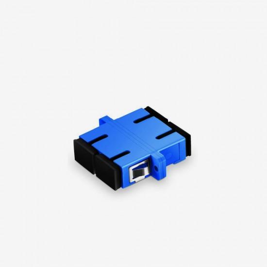 SC UPC  Duplex Single Mode Fiber Optik Adaptor