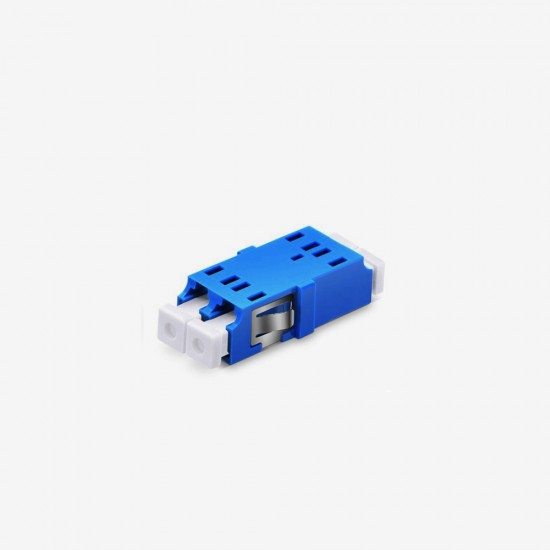 LC UPC Duplex Single Mode Fiber Optik Adaptör - Fibline