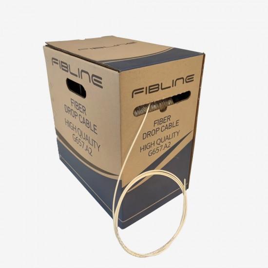 Drop Kablo - Bina İçi Fiber Optik Kablo GPON, G657 A2/B2 1000 metre