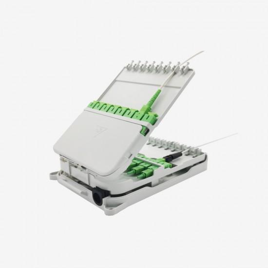 Fiber Optik Sonlandırma Kutusu (ODB) -  Duvar Tipi 16 Port SC SX - 2 Kasetli