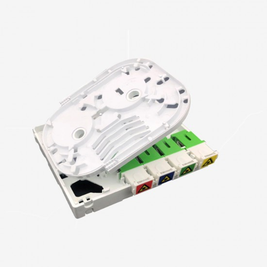 Fiber Optik Sonlandırma Kutusu (ODB) -  Duvar Tipi 4 Port