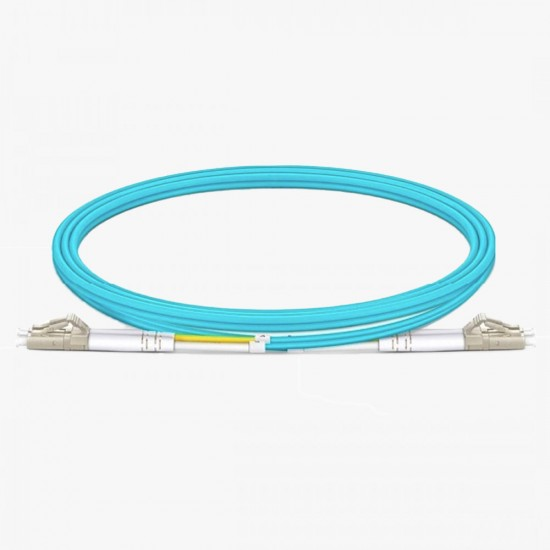 LC/UPC - LC/UPC OM3 50/125 Multi Mode Patch Cord Duplex