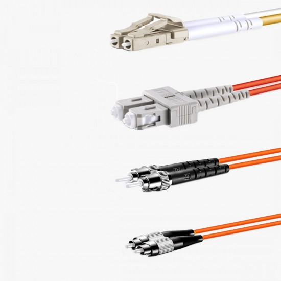 Fiber Optik Patch Cord OM2  Multi Mode LC / SC / FC / ST /