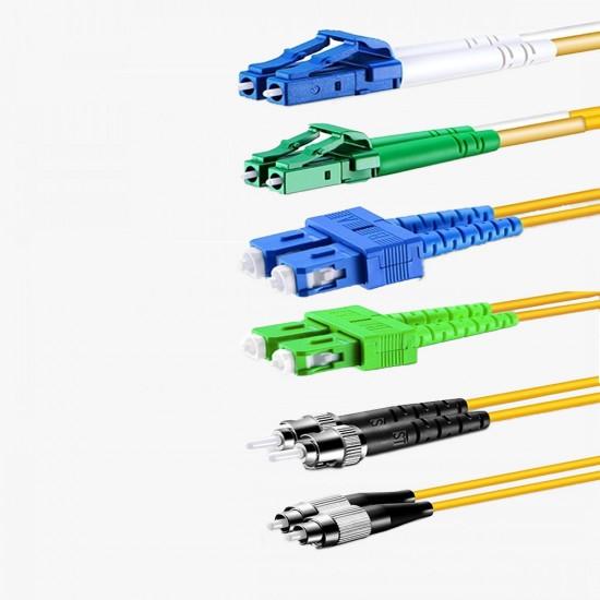 Fiber Optik Patch Cord Single Mode  LC / SC / FC / ST /