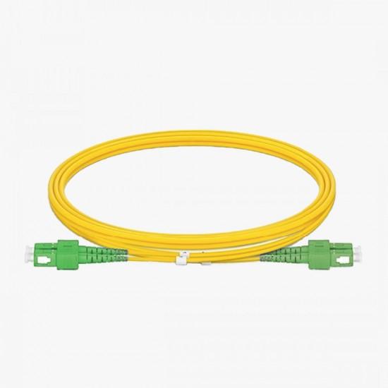 SC/APC - SC/APC OS2 Duplex 9/125  Fiber Optik Patch Cord