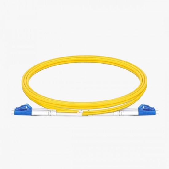 LC/UPC - LC/UPC OS2 Duplex 9/125 Fiber Optik Patch Cord