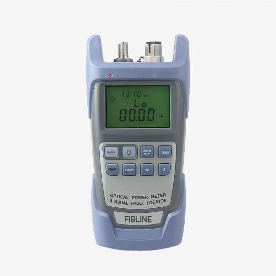 Fiber Optik Power Metre (Güç Ölçer) + Işık Kaynağı - Fiber Optic Power Meter
